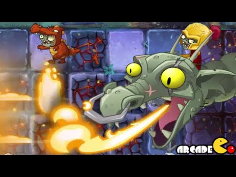 Plants Vs Zombies 2 Dark Ages Part 2 Zombot Dark Dragon