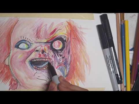 drawing-chucky-the-killer-doll