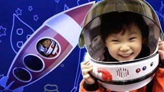라임 우주비행사가 되어 우주선을 타고 어린왕자가 사는 동화속으로 | 어린이체험 | Astronaut experience