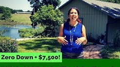 Zero Down to Buy a House + $7,500 with USDA & Florida Bond Home Loan