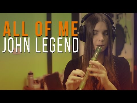 John Legend - All of me (recorder cover)