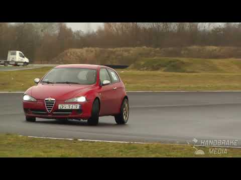 Wiesław Łopuszyński, Alfa Romeo 147 1.9 Jtdm - I SuperOES Tor Poznań - 01.02.2020