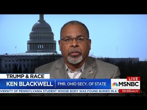 Ken Blackwell Defends President Trump's Immigration and Border Security Efforts