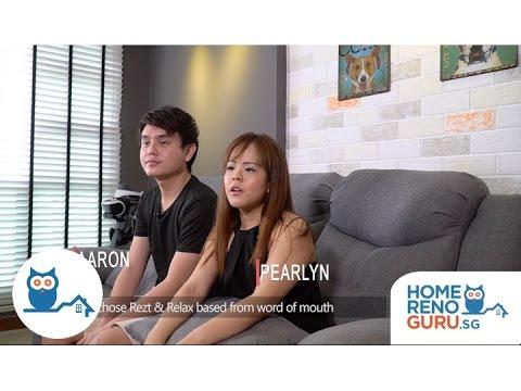 Dream Home of Aaron & Pearlyn - Rezt & Relax Interior【HomeRenoGuru.sg】