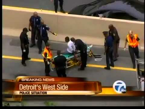 Police situation on Southfield Freeway