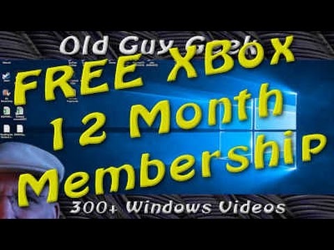 Get Free Xbox  12 Month Subscription