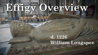William Longespée, 3rd Earl of Salisbury. Salisbury Cathedral