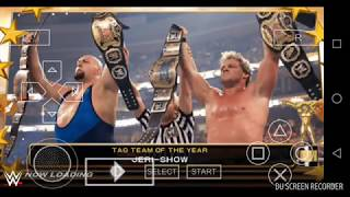 How to download Wwe 2k18 new save data with HD graphics game for PSP