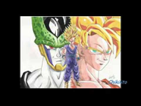 Mis Dibujos De Dragon Ball Z Gt A Lapiz Y A Color Youtube
