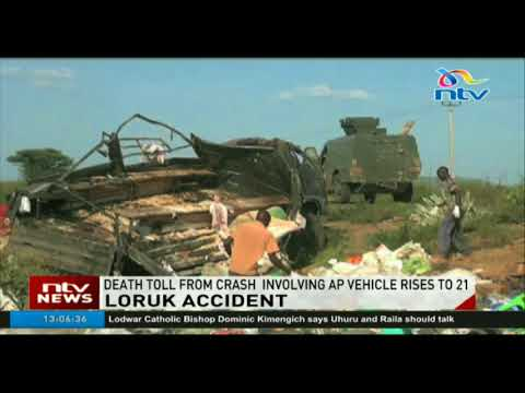 Death toll from crash involving Administration Police vehicle rises to 21