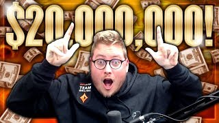 *MY BIGGEST EVER BUY IN* $10,000 - MILLIONS ONLINE MAIN EVENT $20,000,000 GTD