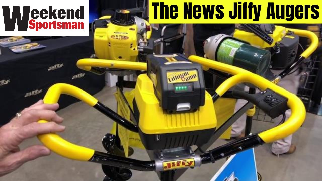 #JiffyIceDrills Jiffy Ice Augers Propane Gas Battery Powered New For  2018/2019 | Weekend Sportsman