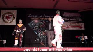 Hamed Firouzi vs Jason Tankson Bourelly Light Weight Super Fight Finals at Diamond Nationals 2011