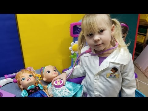 Sick Day Doctors Visit:  Elsia and Annia Videos