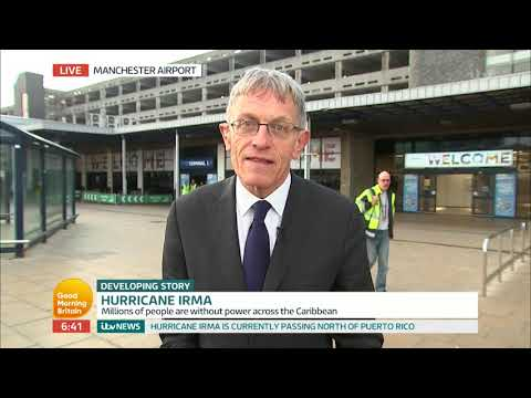 Simon Calder Reports on Travel Chaos Caused by Hurrican Irma | Good Morning Britain