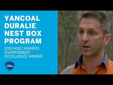 Yancoal  - Duralie Coal Mine Nest Boxes
