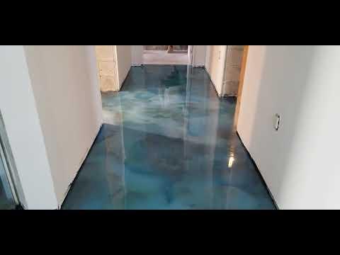 Ocean Reef Metallic Floor