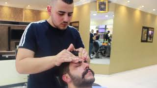 ASMR Turkish Barber Face,Head and Body Massage with Face Care 112 (22 Mins).