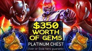 Injustice 2 Mobile. HUGE Platinum Chest Opening. Will I get Darkseid?