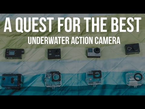 A Quest for the Best Underwater Action Camera