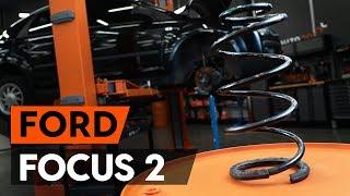 Como substituir molas de suspensão dianteira noFORD FOCUS 2 (DA) [TUTORIAL AUTODOC]