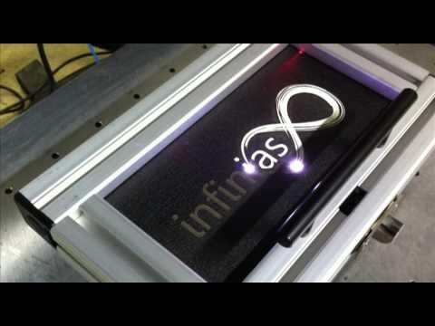 Laser Marking Powder Coated Aluminum Youtube