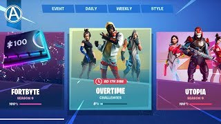 "NEW FREE OVERTIME REWARDS in Fortnite! NEW ""STORM SCOUT SNIPER"" Gameplay! (Fortnite LIVE UPDATE)"