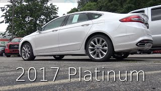 2017 Ford Fusion PLATINUM - In Depth Review In 4K UHD