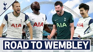 ROAD TO WEMBLEY | Spurs' journey to the Carabao Cup final!
