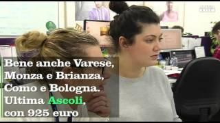 Gli stipendi più alti a Bolzano e al Nord, Ascoli in coda