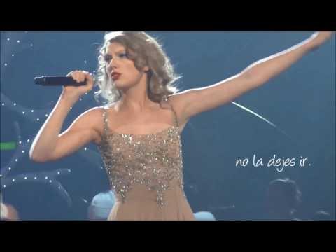 Enchanted - Taylor Swift  - Traducida al español (Live Speak Now Tour HD)