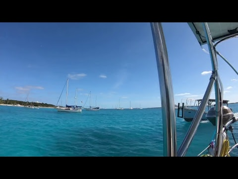 Day drinking in the Bahamas - Lady K Sailing