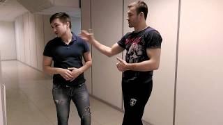 Боец ММА Олег Петеримов дал уроки самообороны. Пенза. 22 января 2016 года
