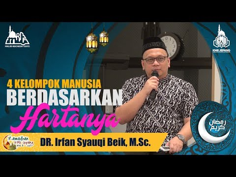 4 Kelompok Manusia berdasarkan Hartanya  - DR. Irfan Syauqi Beik, M.Sc.