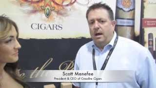 DELICIA CIGARVIXEN INTERVIEW IPCPR 2013 CROSSFIRE CIGARS