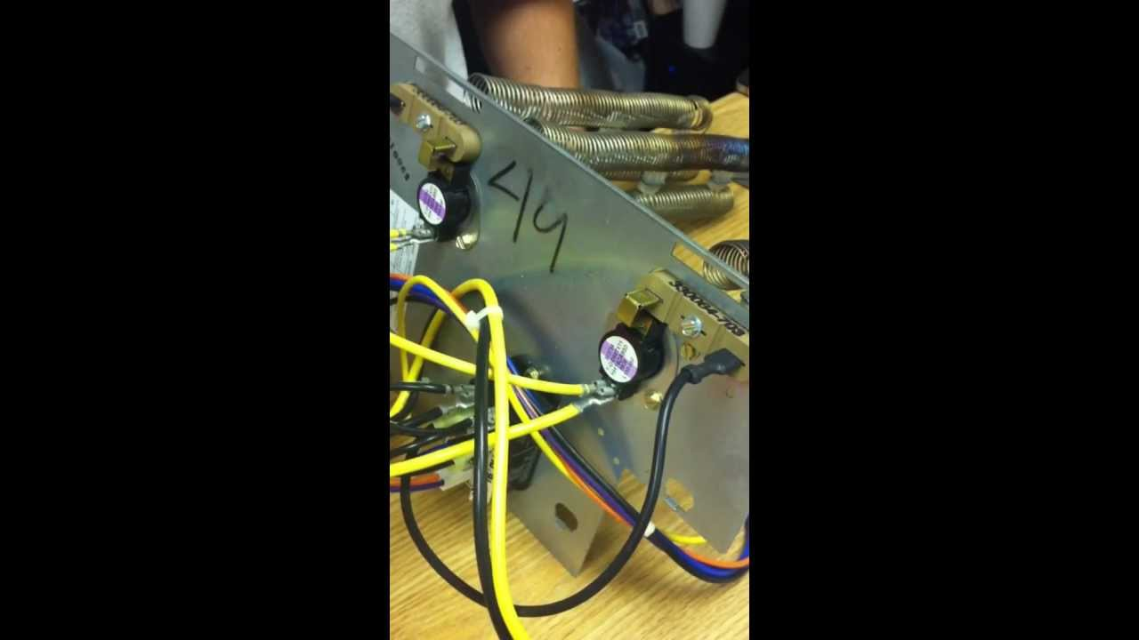 Aux Heat Pump Heater How They Work Youtube Furnace Wiring