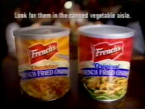 2002 - Ad For French's French Fried Onions
