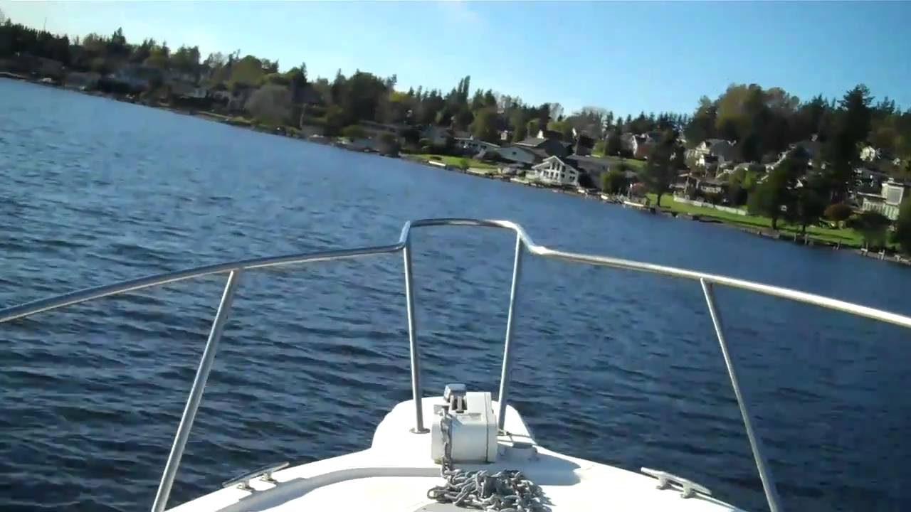 Wellcraft 23ft sea trial on