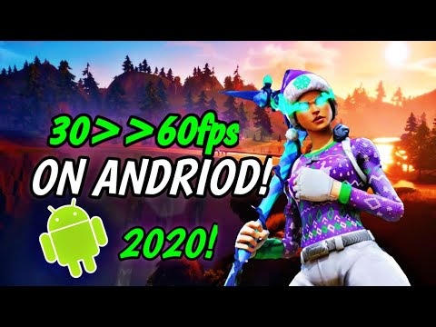 HOW TO GET 60 FPS ON FORTNITE MOBILE ANDROID *WORKING*(read Decs)