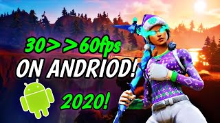 How To Get 60 Fps On Fortnite Mobile Android *working* Read Decs