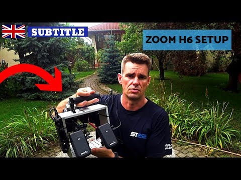 Hangfelvevő - ZOOM H6 SETUP -