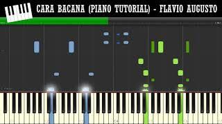 CARA BACANA (PIANO TUTORIAL)