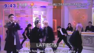[Rom & Eng Sub] THE RAMPAGE from EXILE TRIBE - LA FIESTA (Live Studio)