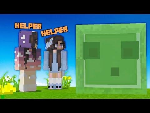 TROLLING A HELPER ON A MINECRAFT SERVER! (Minecraft Trolling)
