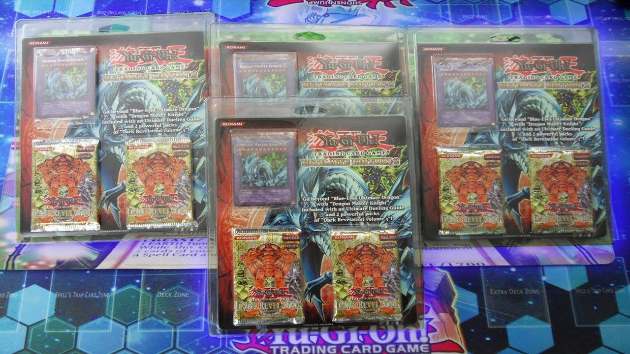 Ultimate Edition 2 Blister Promo Dragon Master Knight Dark Revelation 3 Yugioh