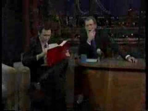 Norm MacDonald - David Letterman - 01-07-1998