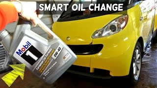 SMART CAR OIL CHANGE 1.0 3 CYLINDER Smart ForTwo Passion For Two