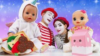 Видео куклы – Как Мама для Беби Бон! - Мультики с Baby Bon Дочки Матери. Весёлые игры для детей