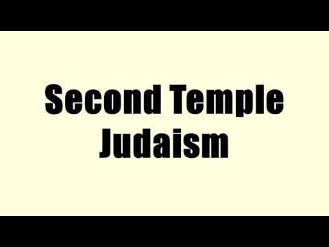 Second Temple Judaism