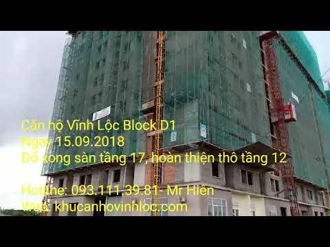 Căn hộ Vĩnh Lộc Block D1 ngày 15.09.2018